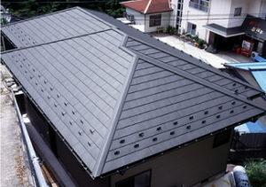 アイジー工業の屋根材のガルテクトの販売