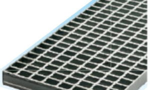 片岡産業のグレーチングのWO-X55-750は落とし込みタイプの重荷重用