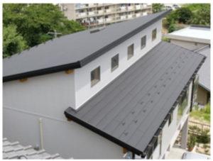 アイジー工業の屋根材スーパーガルテクト