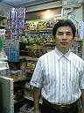 薪ストーブ販売の店長の挨拶