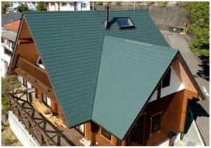 稲垣商事の金属サイディングのヒランビーの施工写真