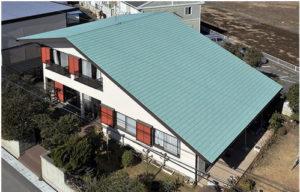 稲垣商事の金属屋根材のヒランビー